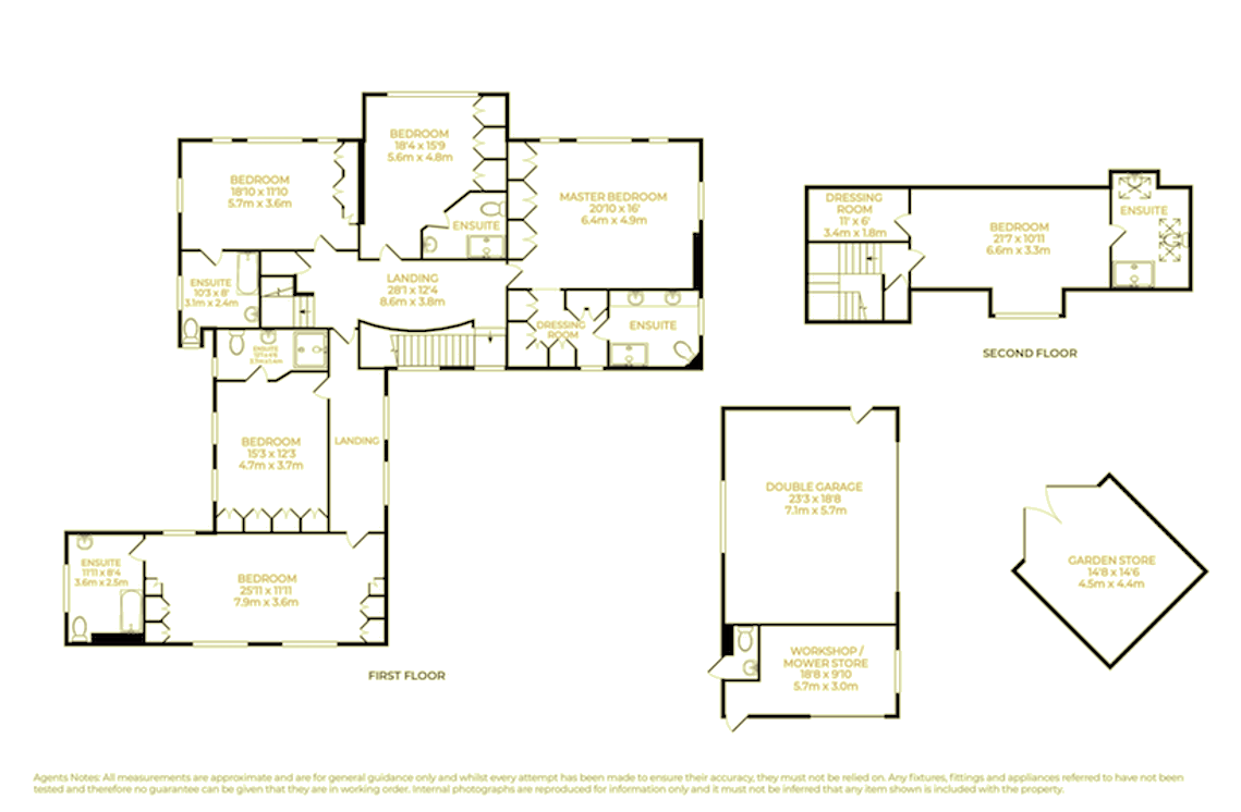 Hockley Place Floor Plan Part 1
