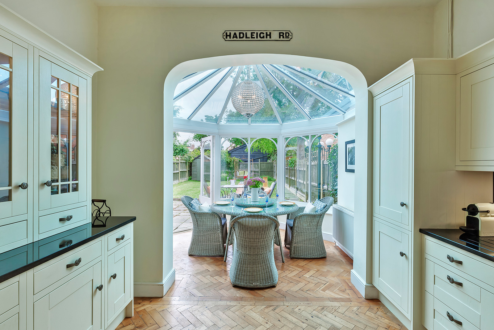 Conservatory view